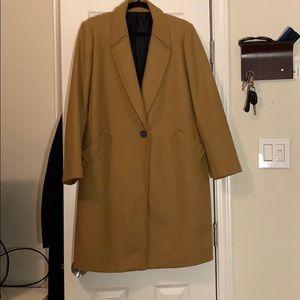 Zara Menswear Camel Coat